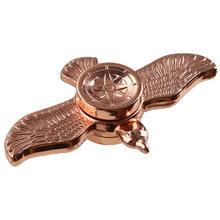 Fidget Spinner Kovový Fidget Spinner Orel bronzový