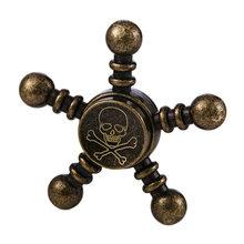 Fidget Spinner Kovový Fidget Spinner Pirát retro