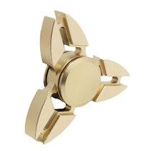 Fidget Spinner Kovový Fidget Spinner Shuriken zlatý