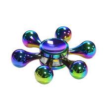 Fidget Spinner Kovový Fidget Spinner Teardrop Rainbow