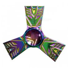 Fidget Spinner Kovový Fidget Spinner Transformers Rainbow