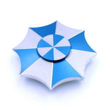 Fidget Spinner Kovový Fidget Spinner Umbrella modrý