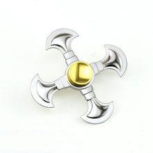 Fidget Spinner Kovový Fidget Spinner Viking stříbrný