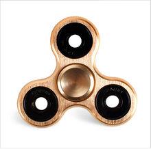 Fidget Spinner Kovový Klasický Fidget Spinner Zlatý