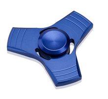 Fidget Spinner Kovový UFO Spinner modrý