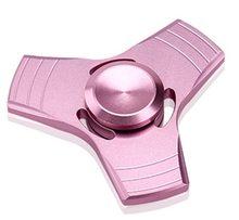 Fidget Spinner Kovový UFO Spinner růžový