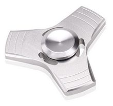 Fidget Spinner Kovový UFO Spinner stříbrný
