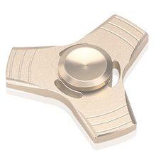 Fidget Spinner  Kovový UFO Spinner zlatý