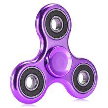 Fidget Spinner Lesklý klasický Fidget Spinner fialový s černým