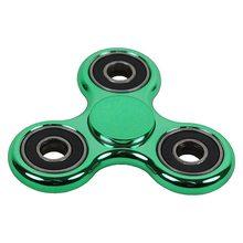 Fidget Spinner Lesklý klasický Fidget Spinner zelený s černým