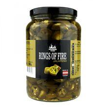 Fireland Foods Jalapeno kroužky, sladko kyselé 1600g Stupeň pálivosti: 4/12