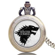 Game of Thrones Hodinky na krk Hra o trůny Stark