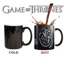 Game of Thrones Magický hrnek Targaryen grey
