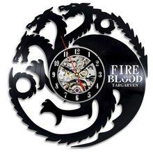 Game of Thrones Nástěnné hodiny Hra o Trůny 109 Targaryen