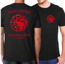Game of Thrones Pánské trčko Hra o Trůny Targaryen Fire & Blood
