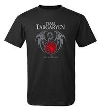 Game of Thrones  Pánské trčko Hra o Trůny Team Targaryen