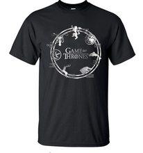 Game of Thrones Pánské tričko Hra o Trůny Mix Černá