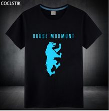 Game of Thrones Pánské Triko s luminiscenčním potiskem Hra o Trůny House Mormont