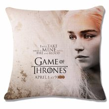 Game of Thrones Povlak na polštářek Hra o Trůny Daenerys Targaryen