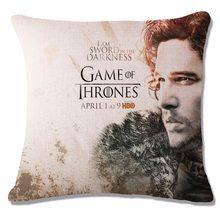 Game of Thrones Povlak na polštářek Hra o Trůny Jon Sníh