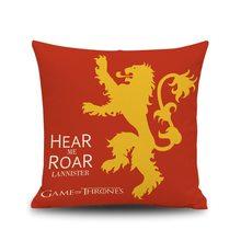 Game of Thrones Povlak na polštářek Hra o Trůny Lannister