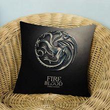 Game of Thrones Povlak na polštářek Hra o Trůny Targaryen