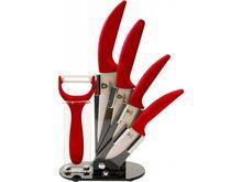 GENERAL Sada keramických nožů - Červená