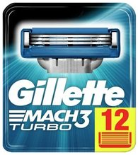 Gillette Gillette Mach 3 Turbo 12ks