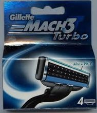 Gillette Gillette Mach 3 Turbo 4ks