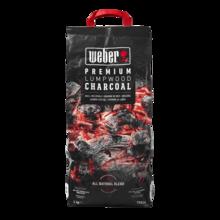 Weber Dřevěné uhlí Premium Lumpwood, 3 kg, Weber