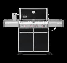 Weber Plynový gril Weber Summit E-470 GBS, černý