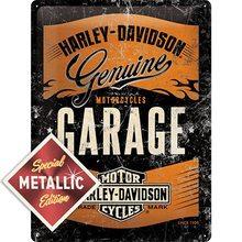 Harley Davidson Plechová cedule - Harley Davidson Garage Special Edition