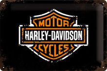 Harley Davidson Plechová cedule – Harley Davidson Logo