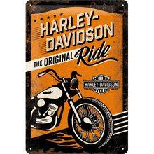 Harley Davidson Plechová cedule – Harley Davidson The Original Ride