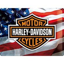 Harley Davidson Plechová cedule – Harley Davidson USA