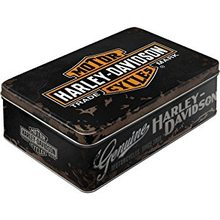 Harley Davidson Plechová dóza - Harley Davidson Logo