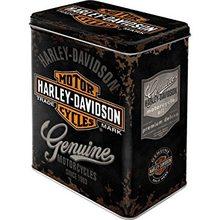 Harley Davidson Plechová dóza – Harley Davidson Logo