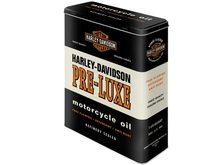 Harley Davidson Plechová dóza  Harley Davidson PRE-LUXE