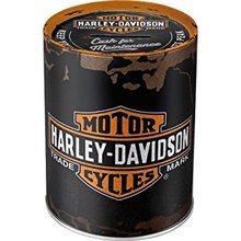 Harley Davidson Plechová kasička - Harley Davidson logo