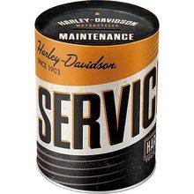 Harley Davidson Plechová kasička - Harley Davidson Service & Repair