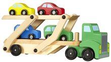 High Life Dřevěný kamión s auty