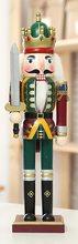 High Life Dřevěný louskáček - Voják s mečem