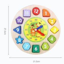 High Life Hodiny Puzzle se zvířátky anglicky