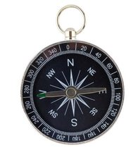 High Life Kompas silver