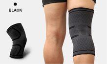 High Life MADMAX Kompresní 3D bandáž koleno Black - M