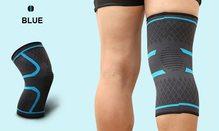 High Life MADMAX Kompresní 3D bandáž koleno Blue - XL