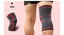 High Life MADMAX Kompresní 3D bandáž koleno Red - L