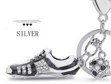 High Life Přívěsek na klíče Kopačka s míčem silver