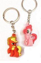 High Life Přívěsek na klíče Pony I LOVE YOU 3D růžový / oranžový