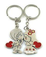 High Life Přívěsek na klíče pro dva polibek ženich a nevěsta
